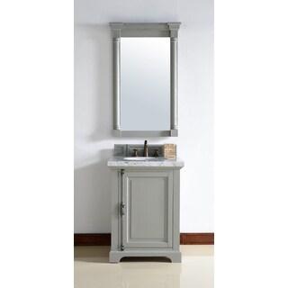 Providence Urban Grey Oak/Wood Veneer 26-inch Single Vanity Cabinet
