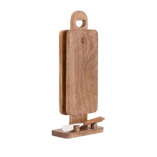 Trisha Yearwood Twin Cutting Boards with Stand