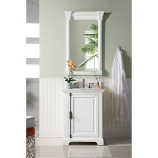 WYNDENHALL Windham Soft White 2-door 30-inch Bath Vanity ...
