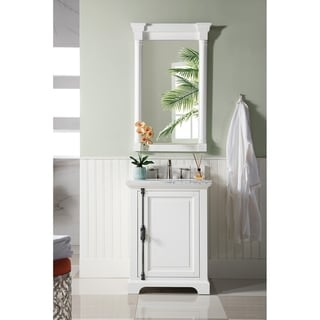 "Providence 26"" Single Vanity Cabinet, Cottage White"