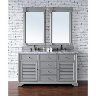 Savannah Urban Grey 60-inch Double Vanity Cabinet