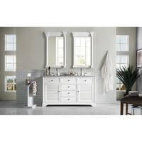"Savannah 60"" Double Vanity Cabinet, Cottage White"