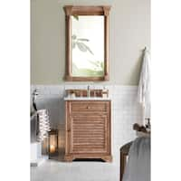 "Savannah 26"" Single Vanity Cabinet, Driftwood"