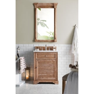 """Savannah 26"""" Single Vanity Cabinet, Driftwood (More options available)"""