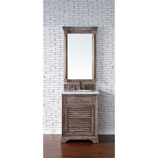 Savannah 26-inch Driftwood Single Vanity Cabinet - Free Shipping ...