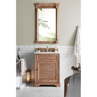 "Savannah 26"" Single Vanity Cabinet, Driftwood"