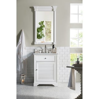 "Savannah 26"" Single Vanity Cabinet, Cottage White"