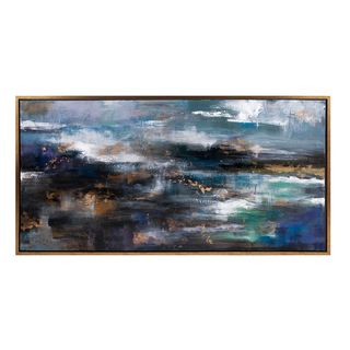 Trisha Yearwood Cowboy Framed Oil Painting