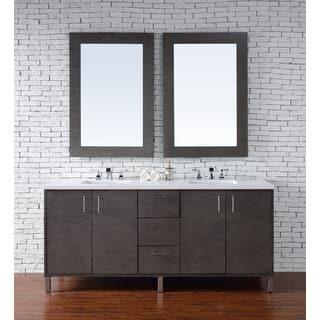 metropolitan 72 double vanity silver oak - Bathroom Cabinets Tacoma