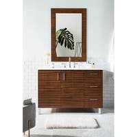 "Metropolitan 48"" Single Vanity, American Walnut"