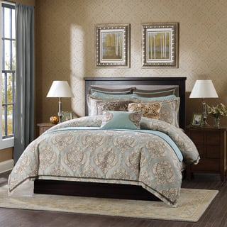 Size king linen comforter sets for less overstock hampton hill westminster 9 piece comforter set sciox Choice Image
