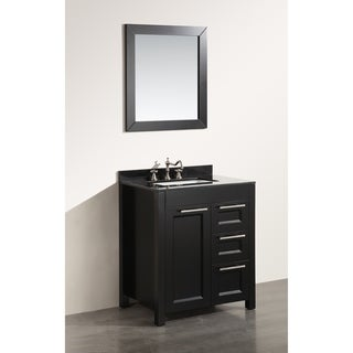 Bosconi 30-inch SB-267-1BBG Single Vanity