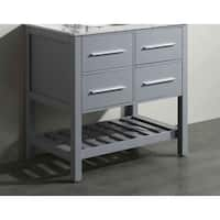 "35"" Bosconi SB-250-3GRMC Main Cabinet Gray"