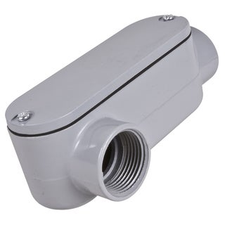 """Raco RLR050 1/2"""" Threaded LR Assembly Conduit Fitting"""
