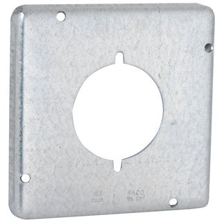 "Raco 878 4-11/16"" Square Exposed Work Cover"