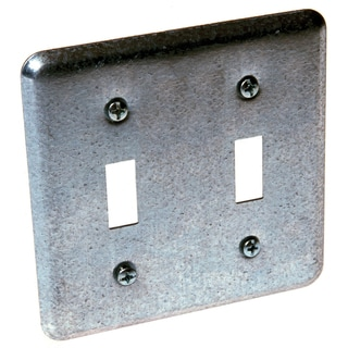 Raco 871 2 Device Switch Box Cover With 2 Toggles