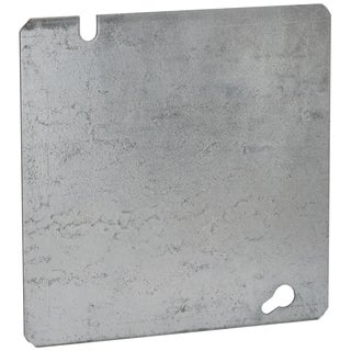 """Raco 832SP 4-11/16"""" Square Flat Cover"""