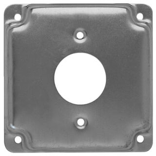 "Raco 801C 4"" Square Exposed Work Covers With 1 Receptacle"