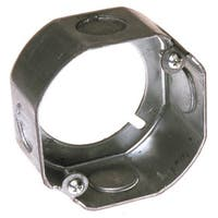 Raco  3-1/2 in. H Octagon  Junction Box  1/2 in. Gray  Steel