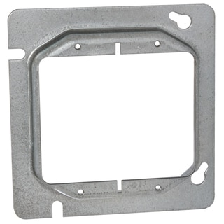 "Raco 00841 4-11/16"" Square Two Device Cover"