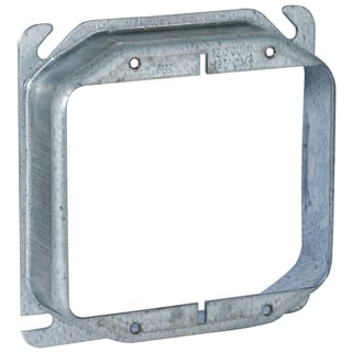 """Raco 00780 4"""" Square Two Device And Tile Covers"""