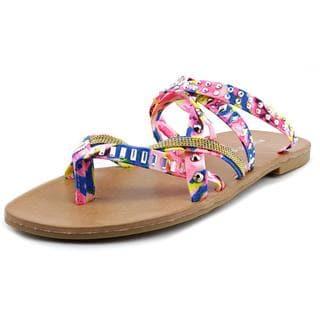 Madden Girl Women's 'Hoffmen' Fabric Sandals