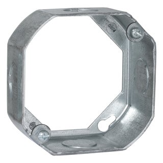 "Raco 00128 4"" Octagon Extension Ring"
