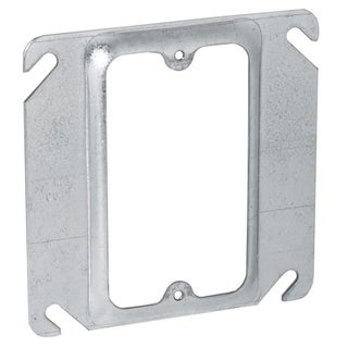 "Hubbell Raco 8771 4"" Square Single Device Box Cover"