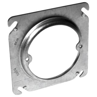 "Hubbell Raco 8756 4"" Square Box Fixture Cover"