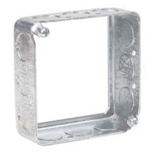 """Hubbell Raco 8201 4"""" Square Extension Ring"""