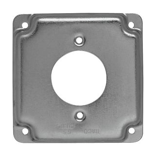 "Hubbell Raco 811C 4"" Square Surface Cover"
