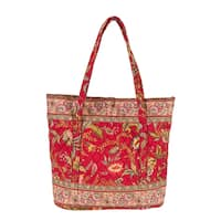 Caspienne Large Quilted Tote Bag