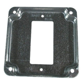 "Hubbell Raco 808C 4"" Raised GFCI Square Cover"