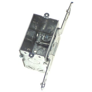 Hubbell Raco 604 Single Gang Switch Box With Bracket