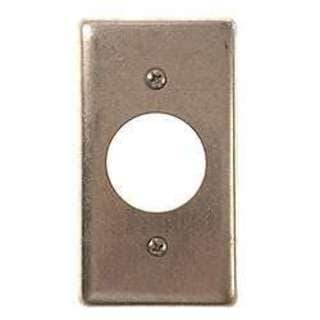 Hubbell Raco 0863 Single Gang Handy Box Receptacle Wallplate Cover