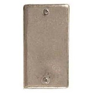 Hubbell Raco 0860 Blank Single Gang Wallplate Cover