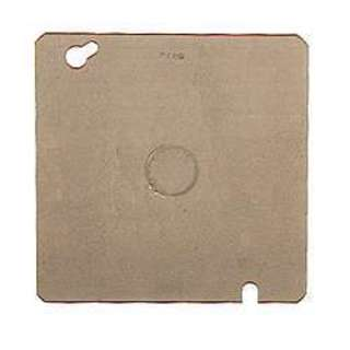 Hubbell Raco 0833 Square Blank Box Cover With Knockout