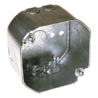 """Hubbell Raco 0175 4"""" Octagon Box With Clamps"""