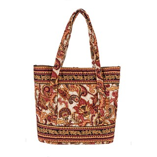 Verona Large Quilted Tote Bag