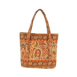 Tangiers Large Quilted Tote Bag