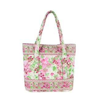 Eden Large Quilted Tote Bag
