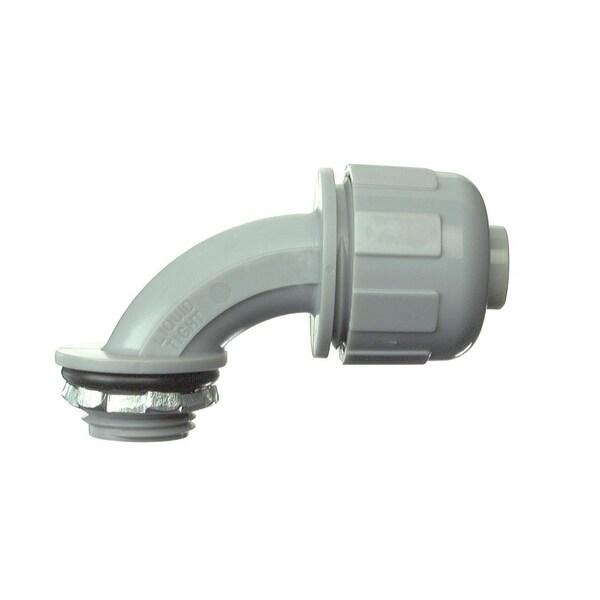 "Halex 27692 3/4"" 90° Liquid-Tight Connector"