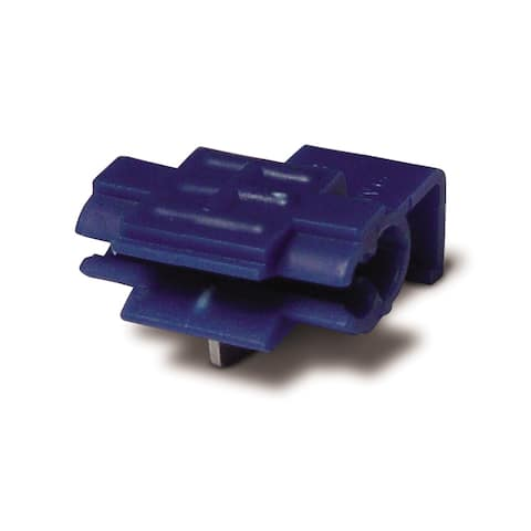 Calterm 61360 18-14 AWG Blue Quick Splice Line Tap 5-count