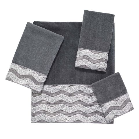 Chevron Galaxy 4-piece Towel Set