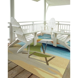 Indoor/Outdoor Beachcomber Shade Multi Rug (5'0 x 7'6) - 5' x 7'6