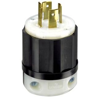 Leviton 061-2411 20 Amp 4W, 3P NEMA L14-20P Locking Plug