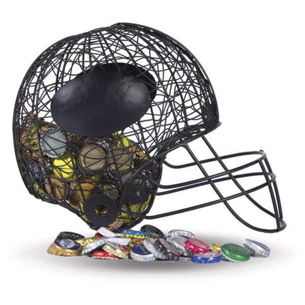 Versil Football Helmet Black Cap Caddy