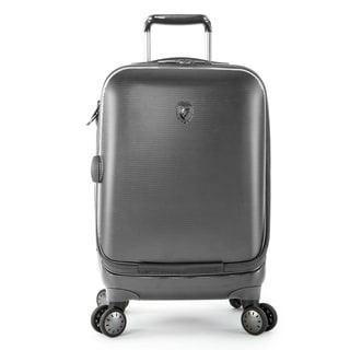 Heys Portal Pewter 21-Inch Hardside Carry-on Smart Upright Suitcase
