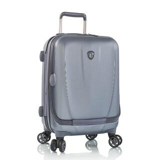 Heys Vantage 21-inch Slate Blue Smart Suitcase with Laptop Pocket