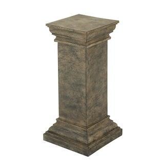 Black Urn Planter Pedestal